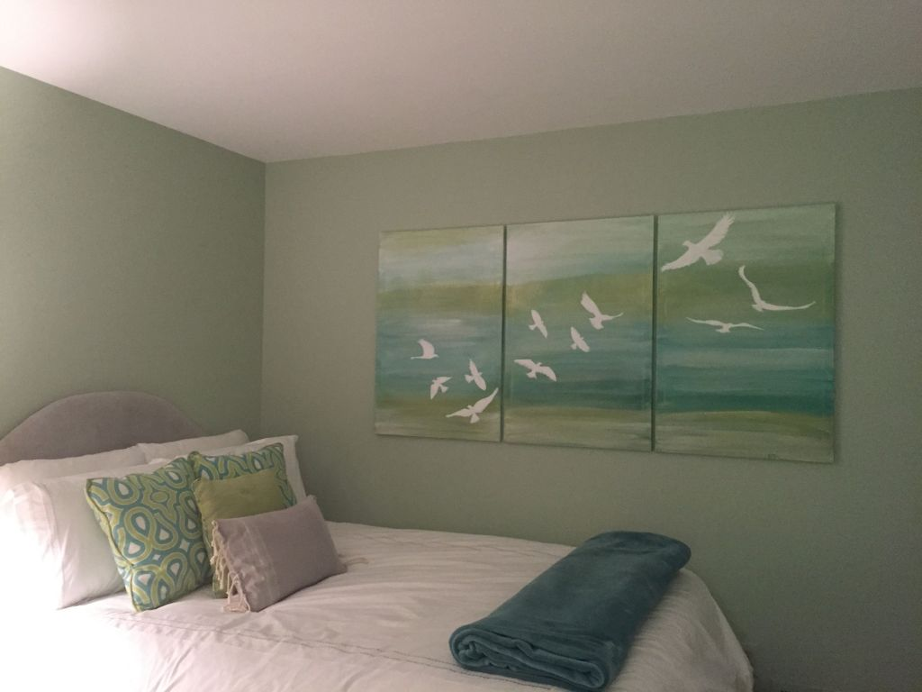 Bedroom Makeover with Canvas